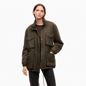 Aritzia black oversized utility jacket - Size XS